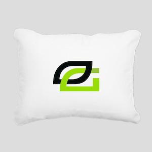 Optic Rectangular Canvas Pillow