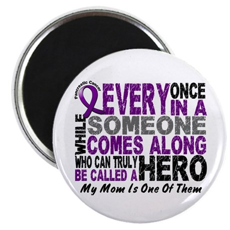 HERO Comes Along 1 Mom PC Magnet