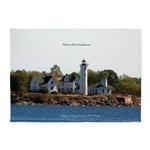 Tibbetts Point Lighthouse 5'x7'area Rug