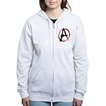 Anarchy Now Women's Zip Hoodie