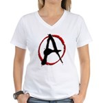 Anarchy Now Women's V-Neck T-Shirt