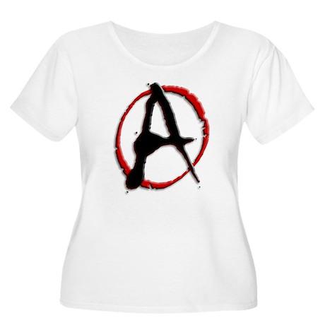 Anarchy Now Women's Plus Size Scoop Neck T-Shirt