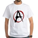 Anarchy Now White T-Shirt
