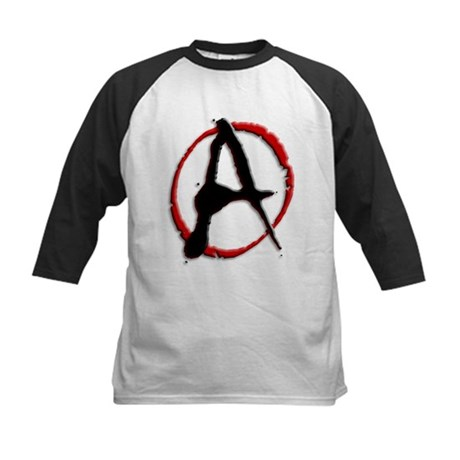 Anarchy Now Kids Baseball Jersey