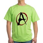 Anarchy Now Green T-Shirt