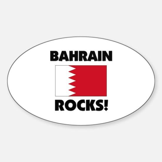Bahrain Rocks Oval Decal