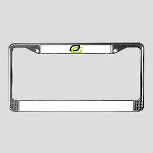 Optic License Plate Frame