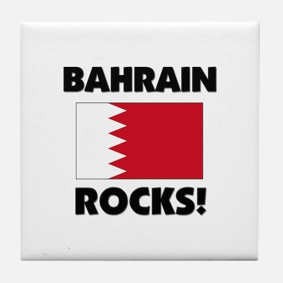 Bahrain Rocks Tile Coaster