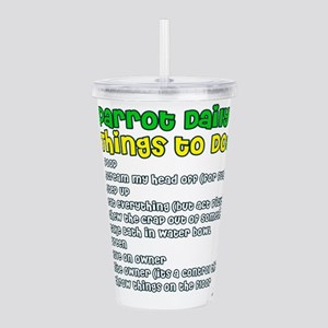 2-thingstodo Acrylic Double-wall Tumbler