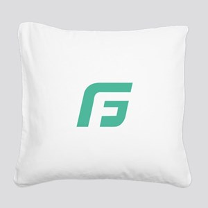 Gale Force Square Canvas Pillow