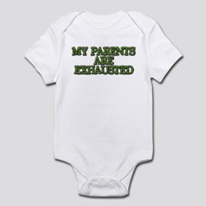 Exhausted Parents - Infant Bodysuit