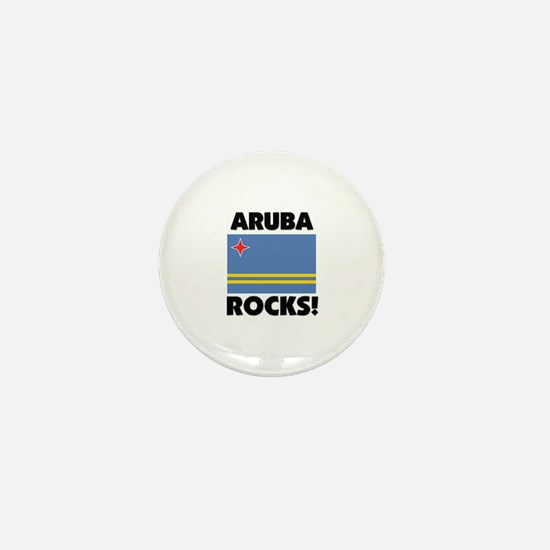 Aruba Rocks Mini Button