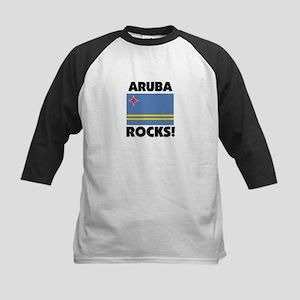 Aruba Rocks Kids Baseball Jersey