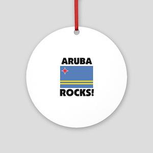 Aruba Rocks Ornament (Round)
