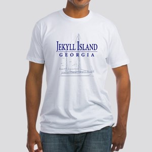 Jekyll Sailboat - Fitted T-Shirt