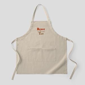 Burnt is the new Tan BBQ Apron