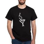 Martini Time! Black T-Shirt
