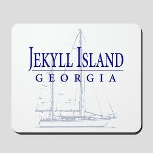 Jekyll Sailboat - Mousepad