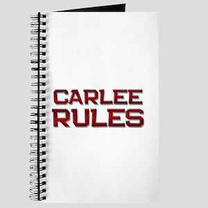 carlee rules Journal