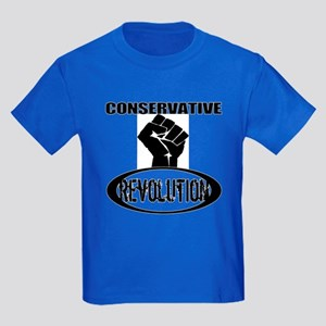 Conservative Revolution Kids Dark T-Shirt