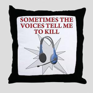 Voices Throw Pillow