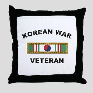 Korean War Veteran 1 Throw Pillow