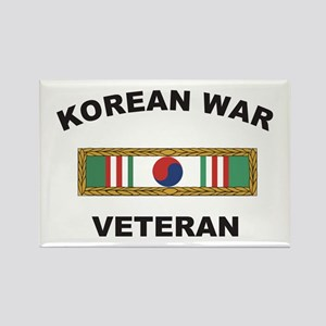 Korean War Veteran 1 Rectangle Magnet