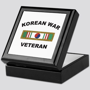 Korean War Veteran 1 Keepsake Box