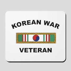 Korean War Veteran 1 Mousepad