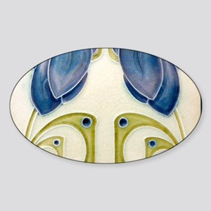 Art Nouveau Ceramic Tile Sticker