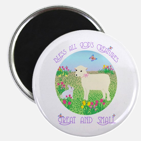 Bless All God's Creatures Magnet