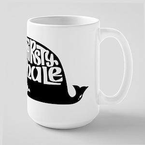 Thirsty Whale Large Mug w/ Black Logo