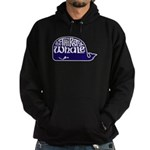 Thirsty Whale Hoodie w/ Navy Whale