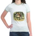 A Fairy Kiss Jr. Ringer T-Shirt