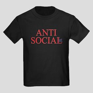 Anti-Social Kids Dark T-Shirt