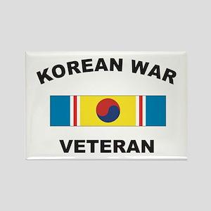 Korean War Veteran 2 Rectangle Magnet
