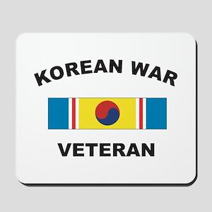 Korean War Veteran 2 Mousepad