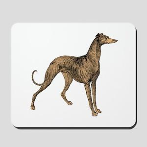 Handsome Greyhound Mousepad
