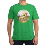 Under the sea Men's Fitted T-Shirt (dark)