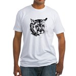Men's, Women's Cougar Fitted T-Shirt