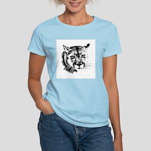 Women's Pink Cougar T-Shirt