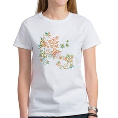 Flowers & Butterflies Women's T-Shirt