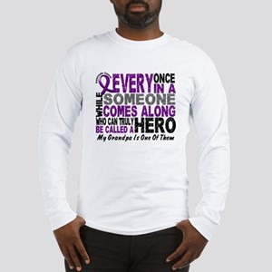 HERO Comes Along 1 Grandpa PC Long Sleeve T-Shirt