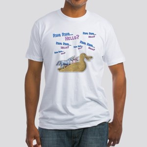 Ring Ring, Hello Fitted T-Shirt