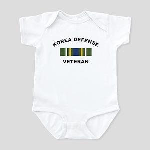 Korea Defense Veteran Infant Creeper
