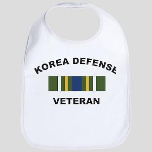 Korea Defense Veteran Bib