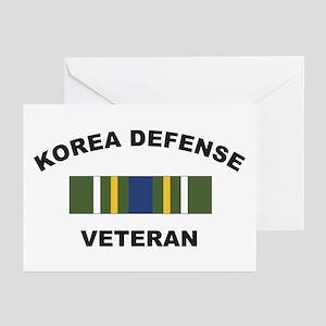 Korea Defense Veteran Greeting Cards (Pk of 10