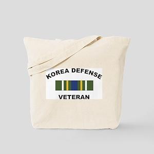 Korea Defense Veteran Tote Bag