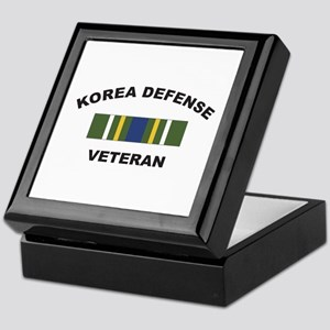 Korea Defense Veteran Keepsake Box