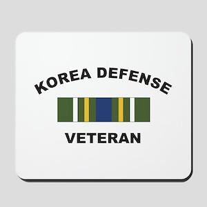 Korea Defense Veteran Mousepad